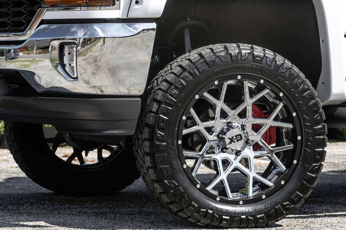 Chevrolet Silverado XD Series XD203 Wheels