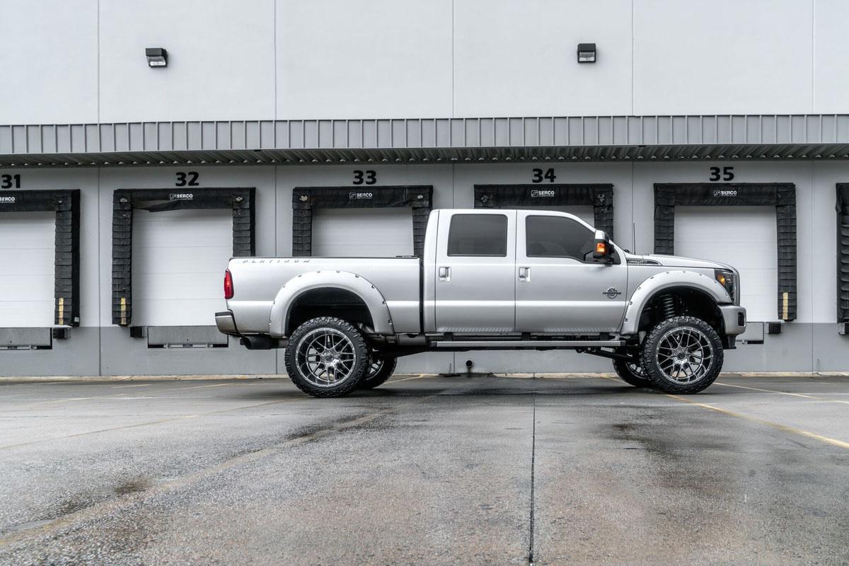Ford F250 Wheels >> Ford F250 W 24 14 Motometal Mo986 Siege Wheels And 24