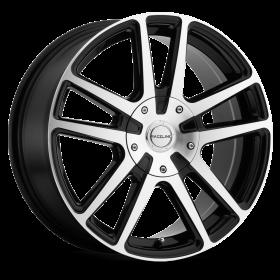 Raceline Custom Wheels 145M ENCORE BLACK MILLED