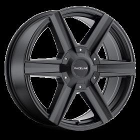 Raceline Custom Wheels 157B PHANTOM BLACK
