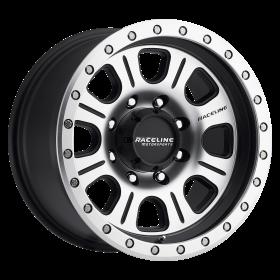 Raceline Custom Wheels 928M MONSTER BLACK MILLED
