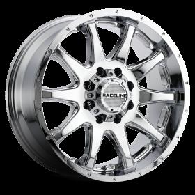 Raceline Custom Wheels 930C SHIFT CHROME