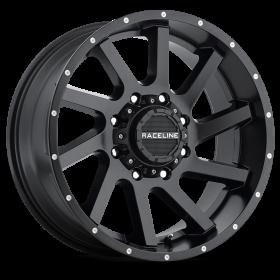 Raceline Custom Wheels 932B TWIST BLACK