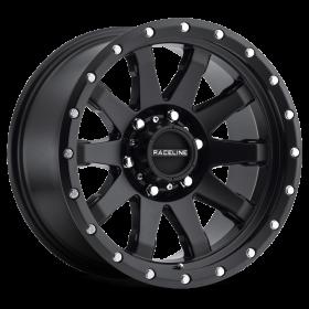 Raceline Custom Wheels 934B CLUTCH BLACK