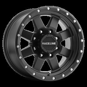 Raceline Custom Wheels 935B DEFENDER BLACK
