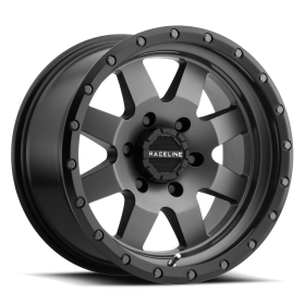 Raceline Custom Wheels 935G DEFENDER GUNMETAL