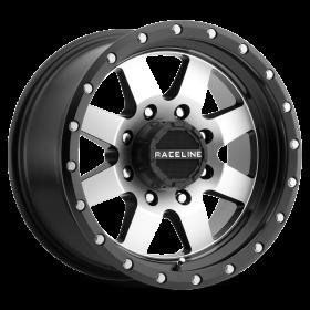 Raceline Custom Wheels 935M DEFENDER BLACK MILLED