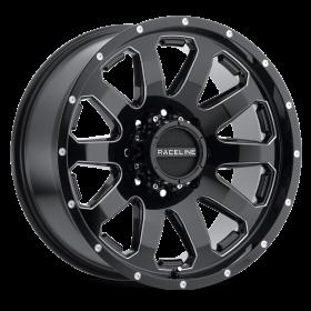 Raceline Custom Wheels 938M ENFORCER BLACK MILLED