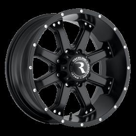 Raceline Custom Wheels 991B ASSAULT BLACK