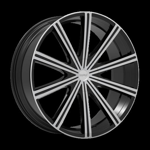Kronik Wheels Epiq MACHINED BLACK