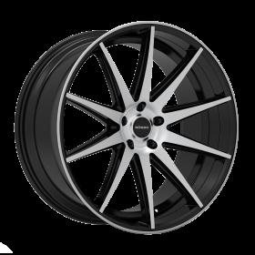 Rosso Custom Wheels Legacy MACHINED BLACK