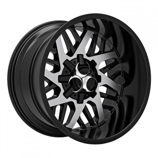 Toxic Off Road Wheels Lethal MACHINED BLACK