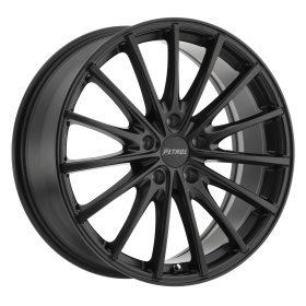 Petrol Custom Wheels P3A BLACK