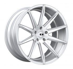 XO Luxury Custom Wheels NEW YORK MACHINED SILVER STAINLESS
