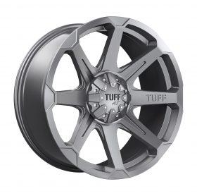 TUFF Custom Wheels T05 GUNMETAL