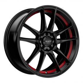 R364 BLACK RED
