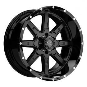 TUFF Custom Wheels T15 BLACK