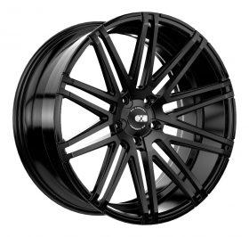 XO Luxury Custom Wheels MILAN BLACK