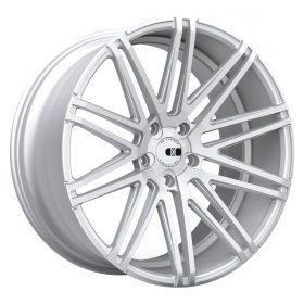 XO Luxury Custom Wheels MILAN MACHINED SILVER