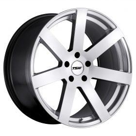 TSW Custom Wheels BARDO SILVER