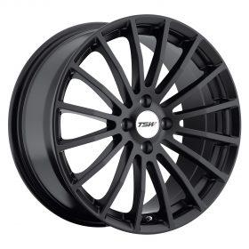 TSW Custom Wheels MALLORY BLACK