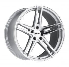 TSW Custom Wheels MECHANICA MACHINED SILVER