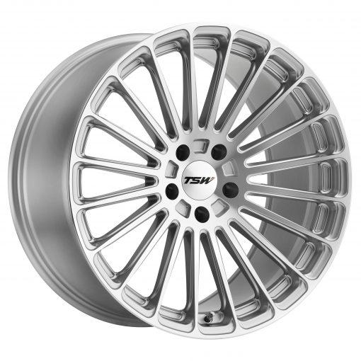 TSW Wheels TURBINA TITANIUM SILVER W/MIRROR CUT FACE