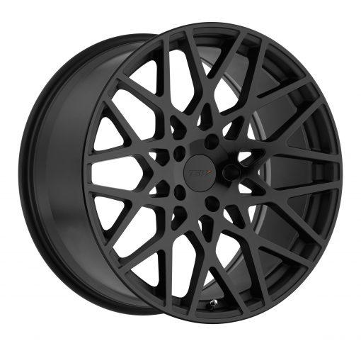 TSW Wheels VALE DOUBLE BLACK - MATTE BLACK W/GLOSS BLACK FACE