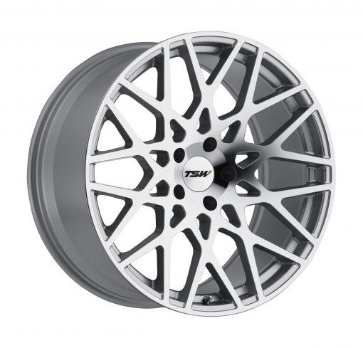 TSW Wheels VALE SILVER W/MIRROR CUT FACE