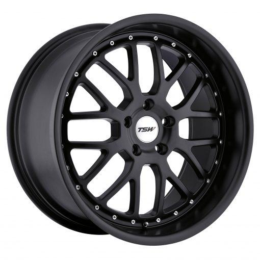 TSW Wheels VALENCIA MATTE BLACK