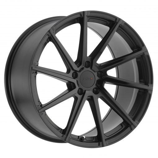 TSW Wheels WATKINS DOUBLE BLACK - MATTE BLACK W/GLOSS BLACK FACE