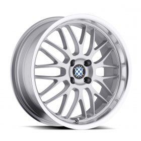 Beyern Custom Wheels MESH SILVER MIRROR