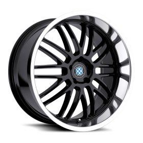 Beyern Custom Wheels MESH BLACK MIRROR
