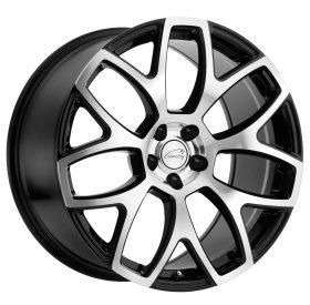 Coventry Custom Wheels ASHFORD MACHINED BLACK