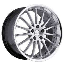 Coventry Custom Wheels WHITLEY SILVER MIRROR