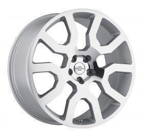 Redbourne Custom Wheels HERCULES MACHINED SILVER