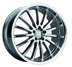Mandrus Custom Wheels MILLENIUM CHROME