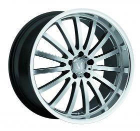 Mandrus Custom Wheels MILLENIUM SILVER MIRROR