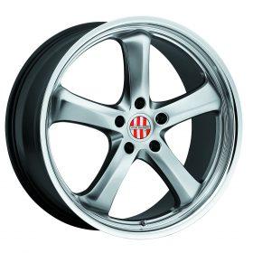 Victor Equipment Custom Wheels TURISMO SILVER MIRROR