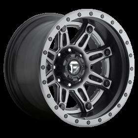 Fuel Custom Wheels HOSTAGE D232 MATTE GUNMETAL