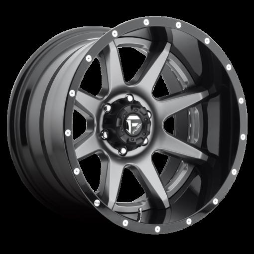 Fuel Custom Wheels D238 RAMPAGE MATTE GUNMETAL