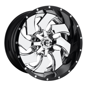 Fuel Custom Wheels D240 CLEAVER CHROME