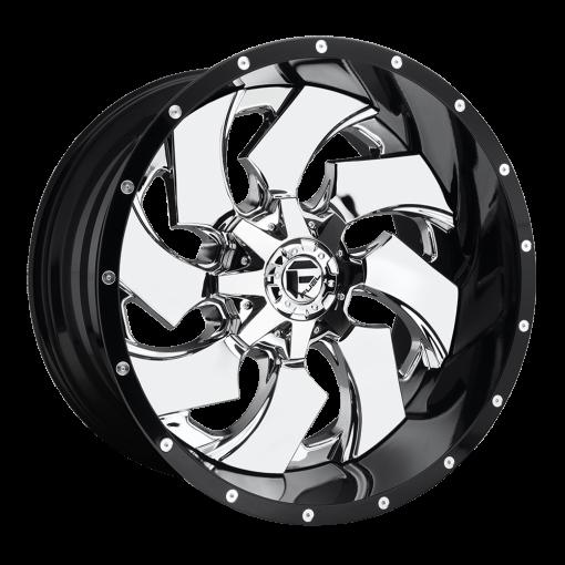 Fuel Custom Wheels D240 CLEAVER CHROME
