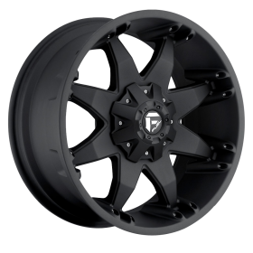 Fuel Custom Wheels D509 OCTANE MATTE BLACK