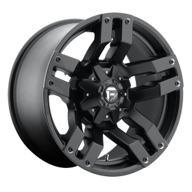 Fuel Custom Wheels D515 PUMP MATTE BLACK