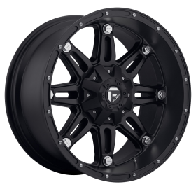 Fuel Custom Wheels D531 HOSTAGE MATTE BLACK