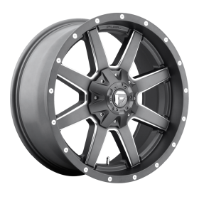 D542 MAVERICK MATTE GUN METAL MILLED