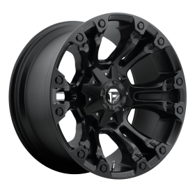 Fuel Custom Wheels VAPOR D560 MATTE BLACK