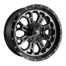 Fuel Custom Wheels CRUSH D561 MATTE BLACK DDT