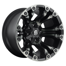 Fuel Custom Wheels VAPOR D569 MATTE BLACK DDT
